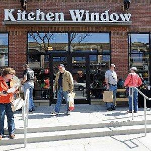 Kitchen Window - Hennepin Ave Entrance