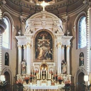 Interior St. Alphonsus Church in the Irish Channel