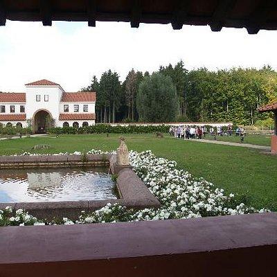 Deel van de romeinse villa
