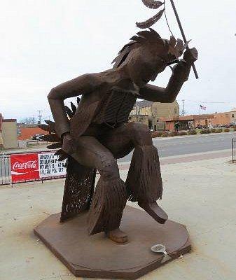 Dancing Sculpture.
