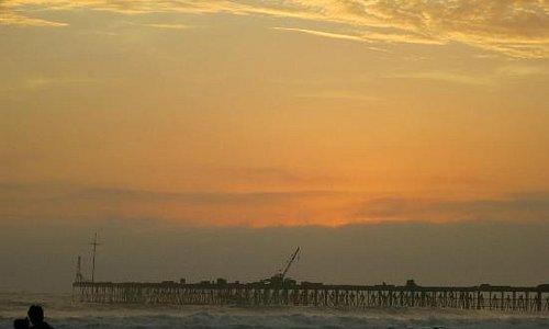 Atardecer en playa Pimentel 1
