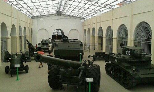 Tanques e armas de guerra