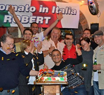 This is How Club Daniele Welcomed me Back to Sorrento!