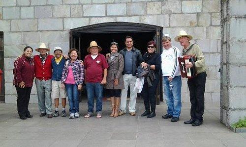 Foto pessoal de Natal, Uberaba, São Paulo, Michelle da Ga turismo e o pessoal da vinicola Tonet