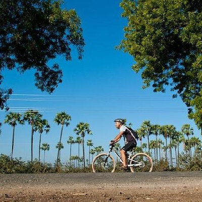 Riding Myanmar's beautiful back roads.