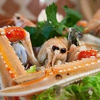 Il pesce fresco del ristorante Cantanapoli