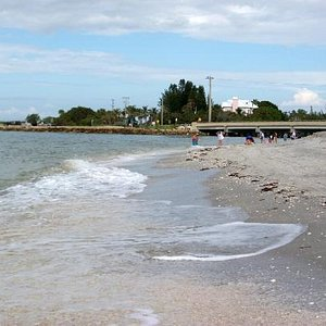 Blind Pass Beach..You'll see the Sanibel Stoop here!