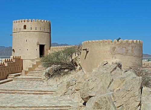 Nakhal Fort Towers