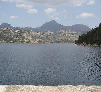 lac des bouillouses - LE BARRAGE