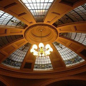 Domed ceiling in Bodega