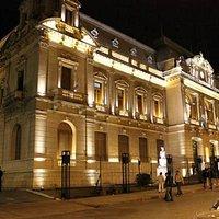 Casa de Gobierno - Vista nocturna - de Jujuyaldia
