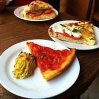 Pizzette e fiori di zucca ripieni….. mmmmhhhh