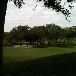 View of Links #18 from clubhouse
