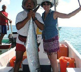 King fish record 60 lbs!