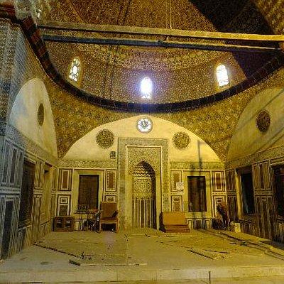 Prayer hall under restoration