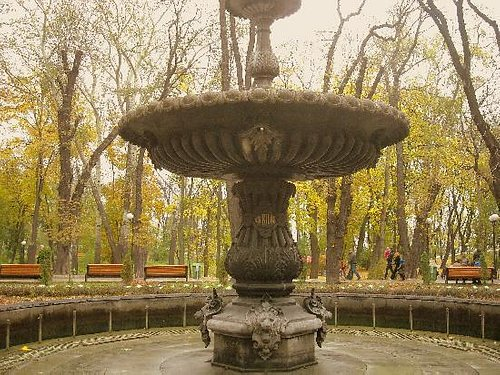 Park Fountain in