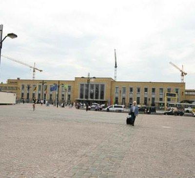 The Bruges Railway Station