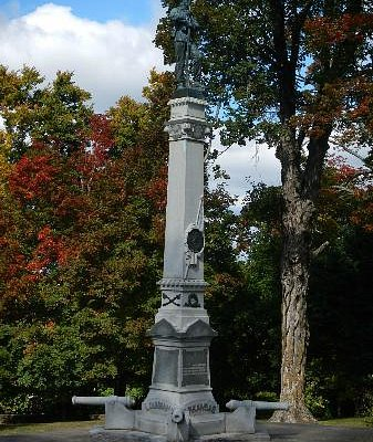 Fayetteville Confederate Cemetery Monument