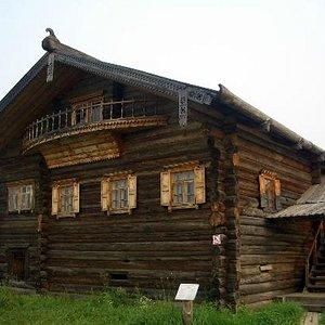 Дом У.Е.Пудовой кон. XIX в. из деревни Мальчевская Нюксенского района