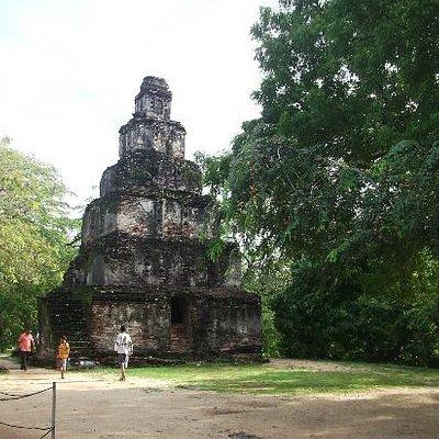 Cambodian type stupa