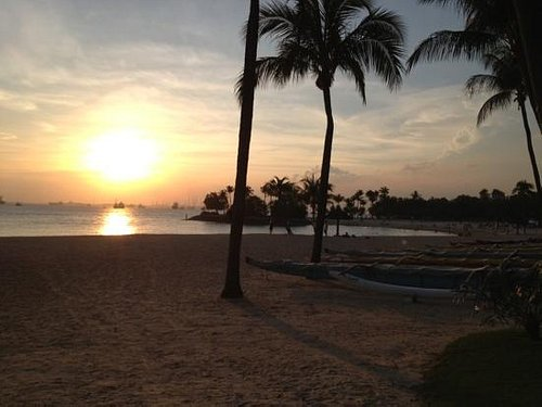 sunset at tankong beach, the quitest of the 3 beaches. my fave