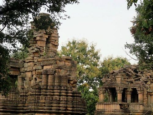 remains of temple