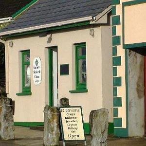 Doolin, Celtic Knot mementos from Burren Stained Glass Art