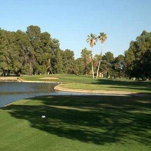 Par-3 15th hole, Randolph Golf Course