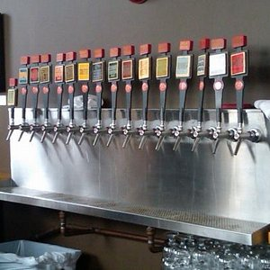 Great Divide Brewing Company taps