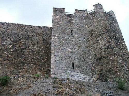 Part of the walls