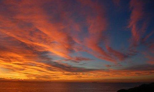 Sunrise over Merewether Baths