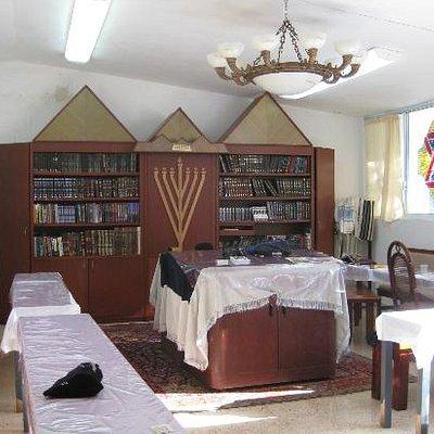 Inside Chabad House Cozumel