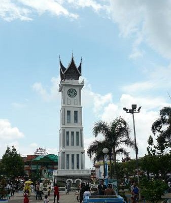Jam Gadang, Bukittinggi, West Sumatra, Indonesia