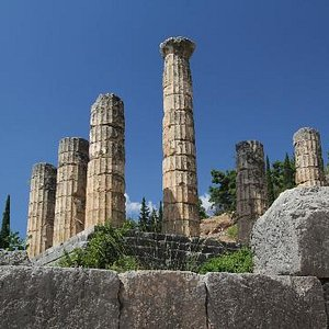 Temple at Delphi