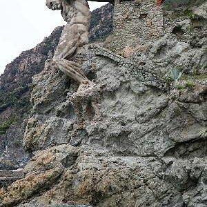 Le dieu Poseidon en plein effort