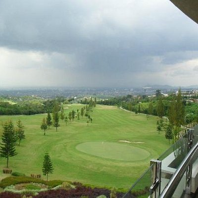 View from club house