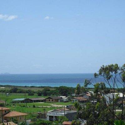 Gamboa-SC(vista da Pousada Toca do Lagarto)