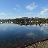 By The Water Front At Ambleside