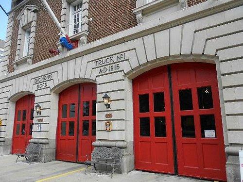 Fire Museum Exterior