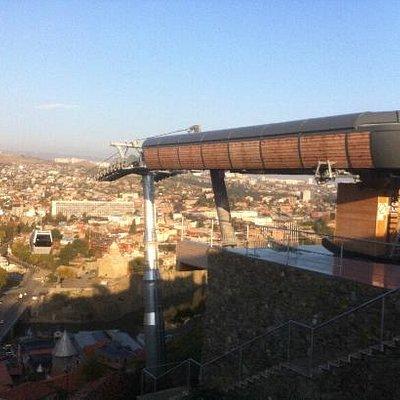 aerial tramvaj TBILISI
