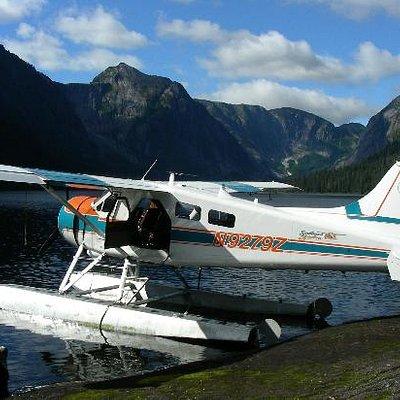 Misty Fjords Lake Landing