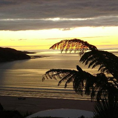 Shipwreck Bay sunset, Ahipara