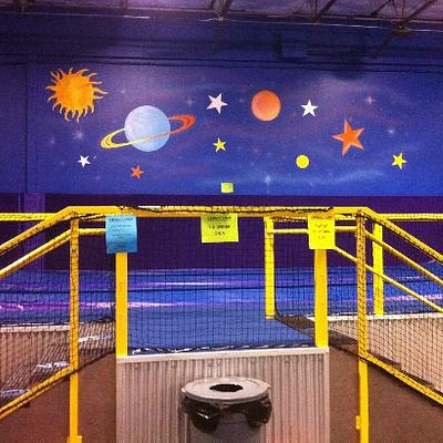 Shooting Stars, area for ages 7 and under