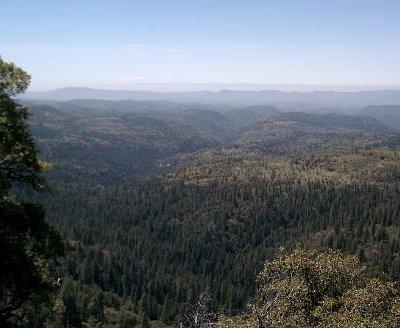 Looking West 90mi to Mt Diablo and beyond.