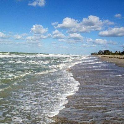 Winds from HC Sandy on Blind Pass Beach