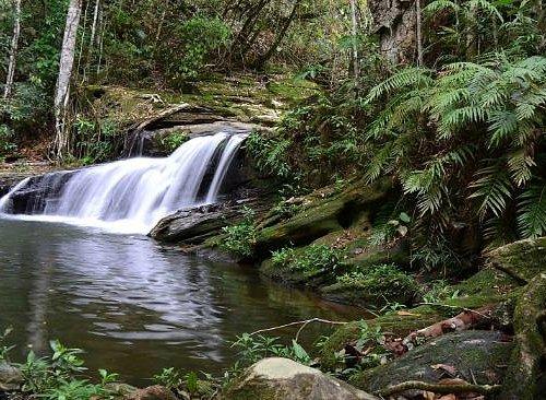 Cachoeira do Landí ( no trajeto da maior trilha para o Abade )