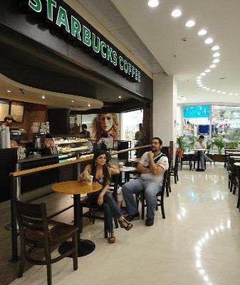 Starbucks no Botafogo Praia Shopping