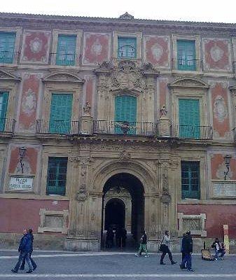 Fachada del Palacio Episcopal.Foto: Elo Durán