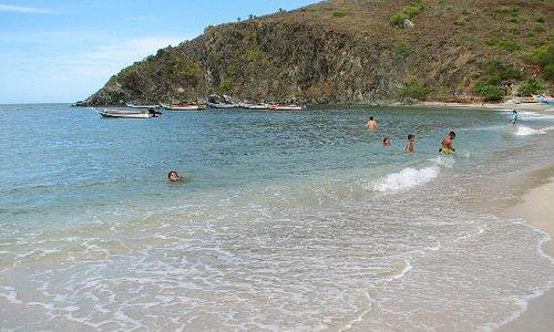 Swimming condition at Manzanillo