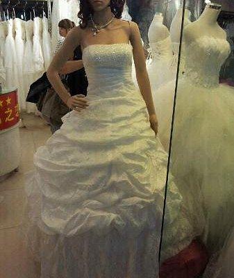 Wedding Gown below USD150